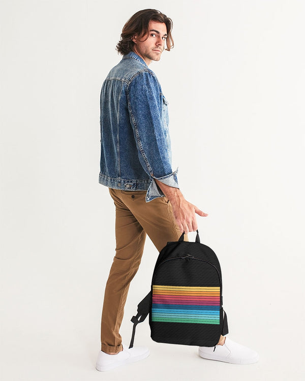 Men Duel Polaroid Collection Large Backpack