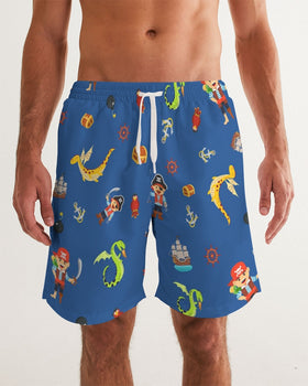 Pirate Boys Men's Swim Trunk
