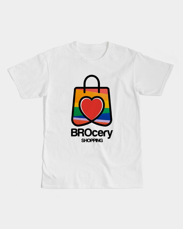BROcery Shopping Bag Horny Demon Men's Graphic Tee