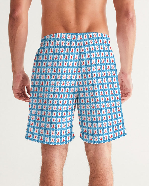 Pirate Jacks Blue Men's Swim Trunk
