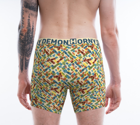 Boxer Briefs - WaterPatch Horny Demon Men's Underwear