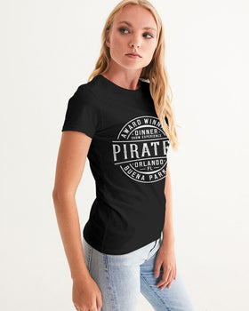 Pirates Stamp Women's Graphic Tee