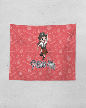 Pirate Kids Ms. Treasure Tapestry 60