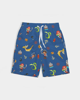 Pirate Boys Boy's Swim Trunk