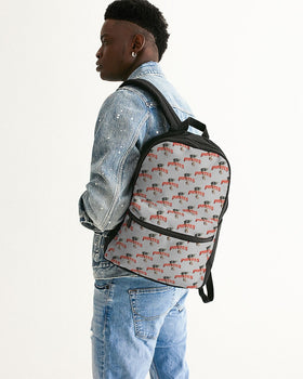 Pirates Brand Small Canvas Backpack