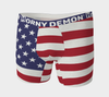 Boxer Briefs - American Flag Horny Demon Men's Underwear - HMC Brands