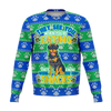 Ugly Snacks Rottweiler Fashion Christmas Sweater - HMC Brands