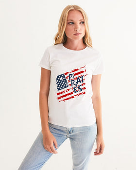 Pirates America Women's Graphic Tee