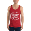 Dirty Mind Horny Demon Unisex Tank Top