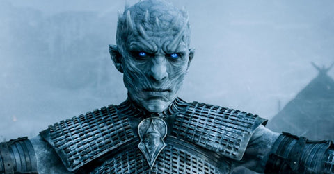 white lens to embody white walkers cosplay or Night King cosplay