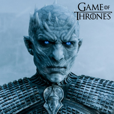 the white walkers eyes