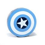 Blue kit contact lenses case holder Avengers Captain America