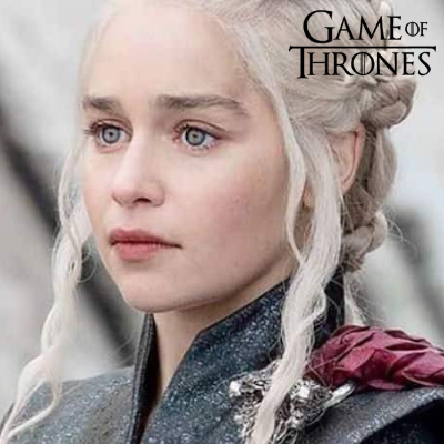 Blue Contacts Daenerys from Game of Thrones -  Natural Diamonds Light Blue 1 Year Use