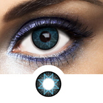 Amazing Blue Los Angeles Lenses with a star