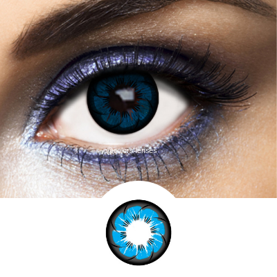 Blue Contacts Tokyo Ocean - 1 Year Use