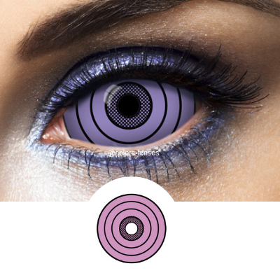 Be a character manga with Rinnegan Sclera Lenses