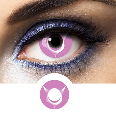 Pink Contacts Code Geass - Crazy Lenses of 1 Year Use
