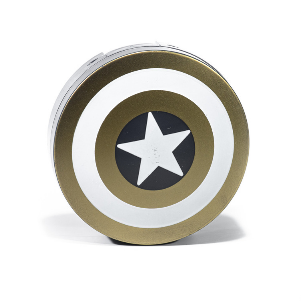 Gold kit contact lenses case holder Avengers Captain America