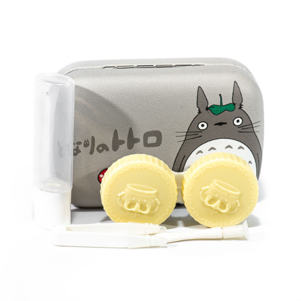 cheapest contact lenses cases holder bear Totoro