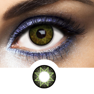 Lovely Green Los Angeles Contact Lenses