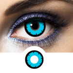 Blue Contacts Poseidon - Crazy Lenses of 1 Year Use