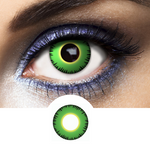 Green Contacts Hulk - Crazy Lenses of 1 Year Use