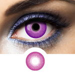 violet crazy lenses for makeup and cosplay