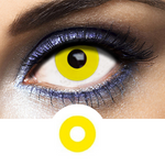 Yellow Contacts Yellow Out - Crazy Lenses of 1 Year Use