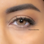Brown Contacts Natural Diamonds Honey Gold - 1 Year Use