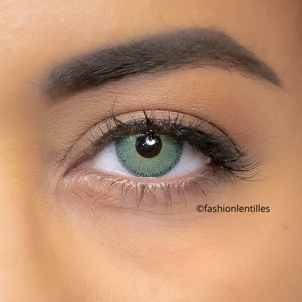 Green Contacts Natural Dream Jade Green - 1 Year Use