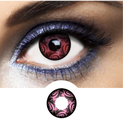 Original pink contact lenses