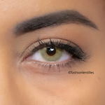 Green Contacts Natural Soft Pear - 1 Year