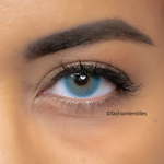 Blue Contacts Natural Soft Sea - 1 Year