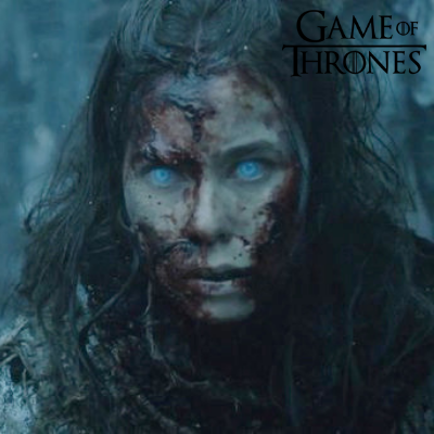 the white walkers eyes game of thrones