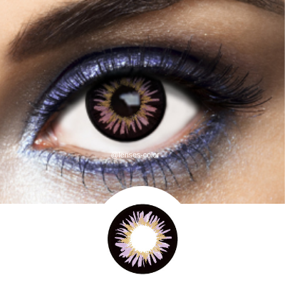 Be different with Violet New York Contacts