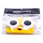 yellow bird case holder for contact lens