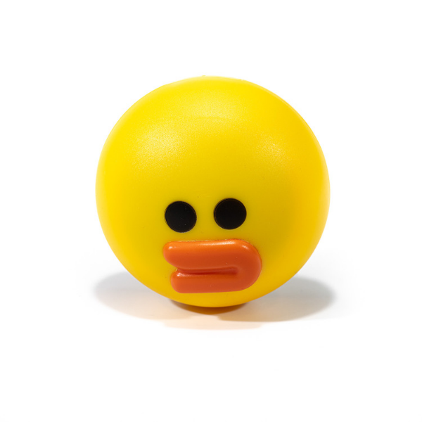Yellow kit contact lenses case holder DUCK