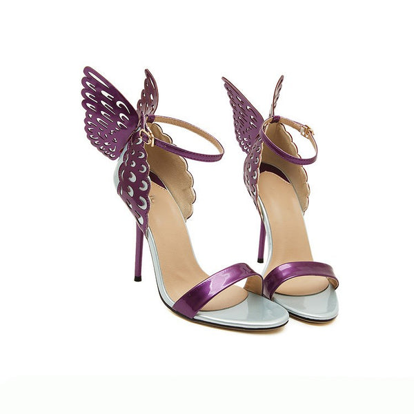 Butterfly Wings Ankle Straps Women's Sandals (Plus Size Available)