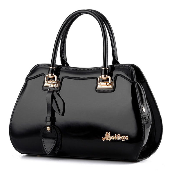 Occident Style Glossy Women Tote