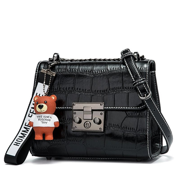 All Match Croco-Embossed Women Cross Body Bag