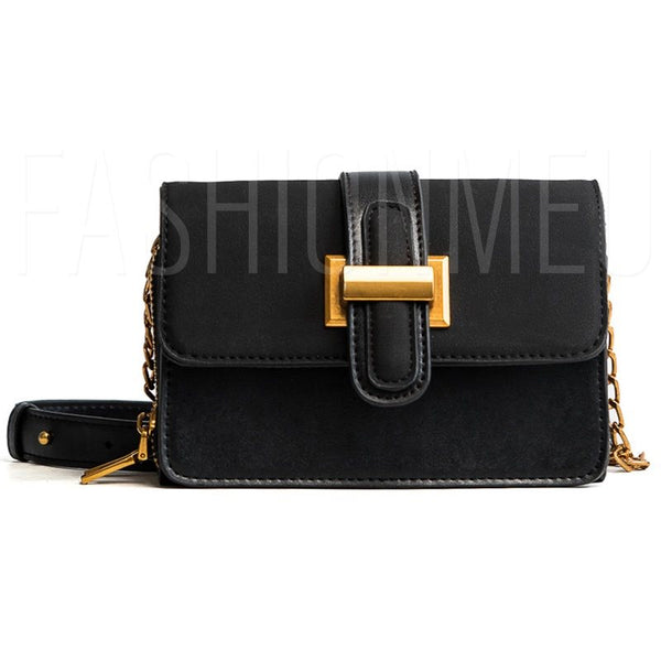PU Thread Rectangle Crossbody Bags