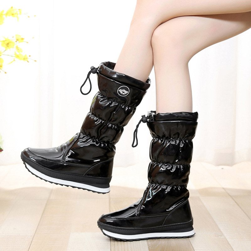 Winter Casual Round Toe Women's Snow Boots