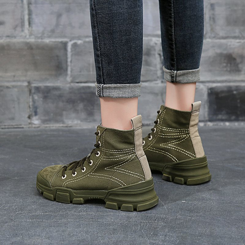 Fall Women's Ankle Work Boots