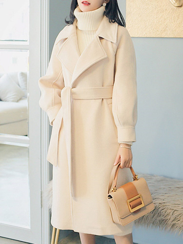 Double Faced Cashmere Woolen Overcoat