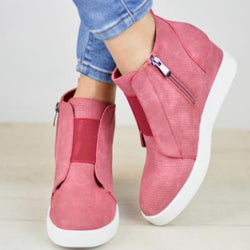 Fashion Round Toe Women's Ankle Boots