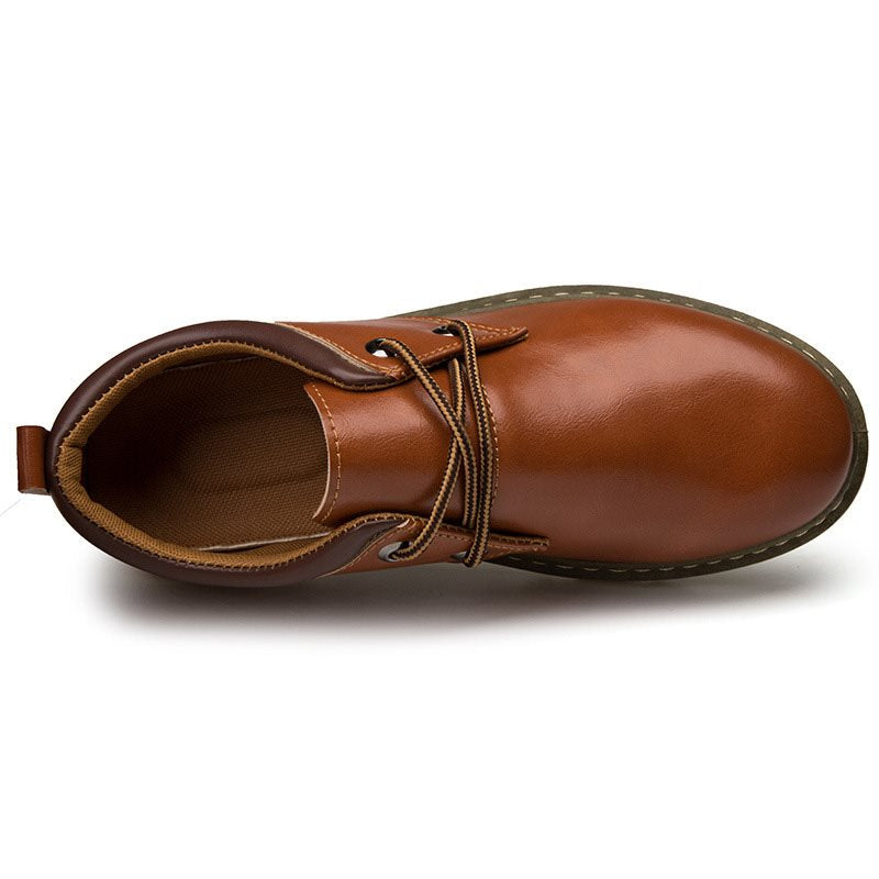 New Vintage Men's Leather Shoes
