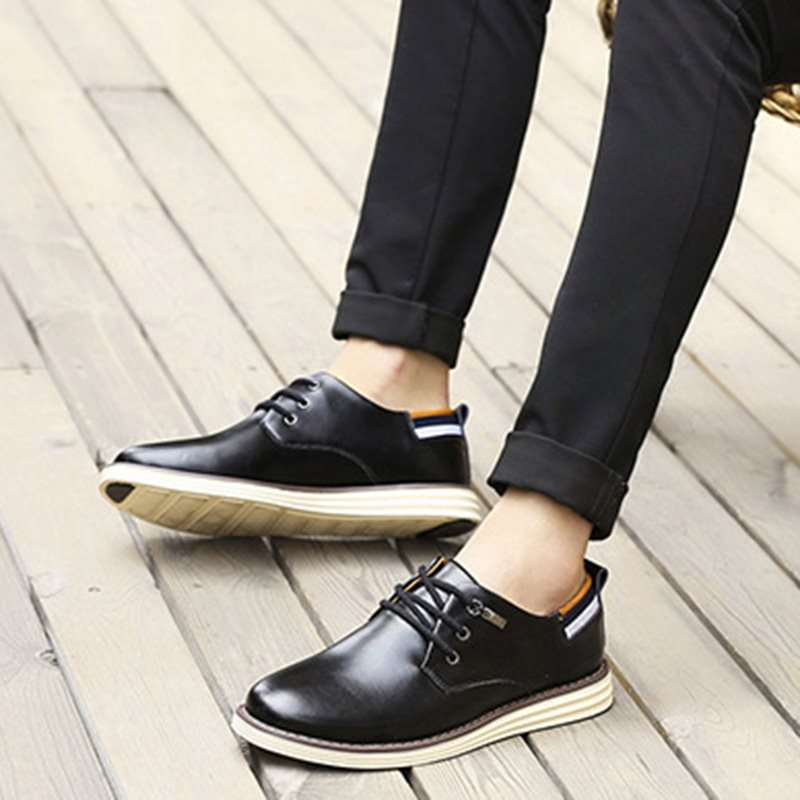 New Lace Up Men's PU Oxford Shoes