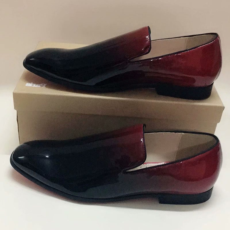 Round Toe  PU Men's Shoes