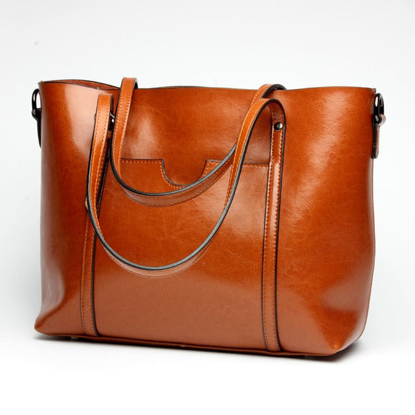 Fashion Plain Thread Leather Flap Shoulder Bags
