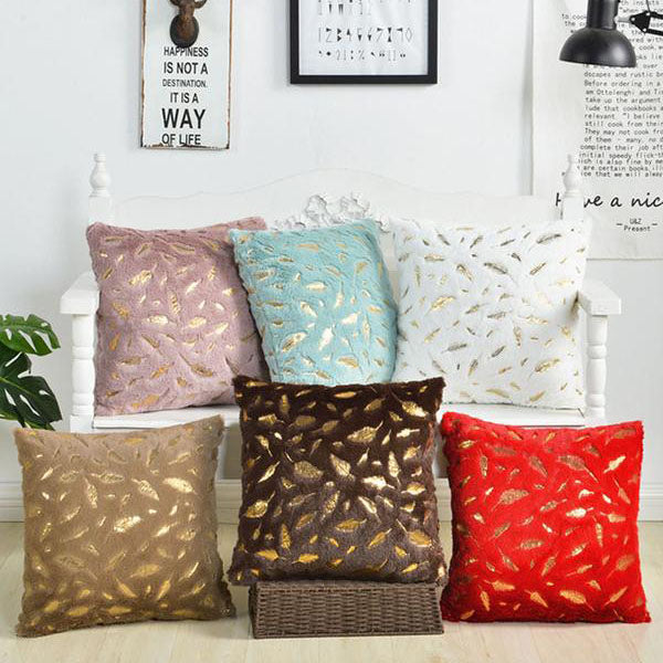 Fur Decorative Cushion Cover Home Plush Pillow Case 45cm*45cm